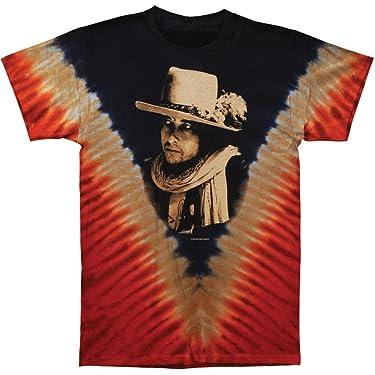 Bob Dylan Men's Rolling Thunder Tie Dye T-Shirt Multi