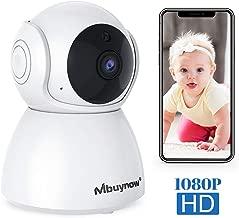 Mbuynow IP cámara WiFi camaras de Vigilancia inalámbrico HD Zoom P2P IR Vision Nocturna con Micrófono y Altavoz