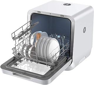 RAPLANC Lavavajillas doméstico Mini pequeño Lavado y Secado WiFi Integrado máquina lavavajillas Inteligente
