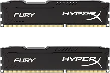 HyperX Kingston FURY 16GB Kit (2x8GB) 1866MHz DDR3 CL10 DIMM - Black (HX318C10FBK2/16)