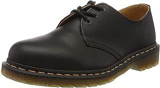 Dr. Martens Men's 1461 3 Eye Shoe,Black Nappa,10 UK/11 M US