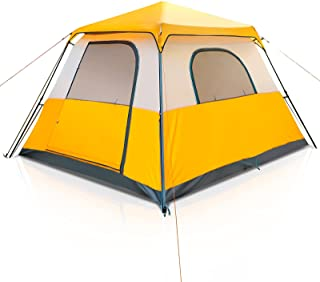 Camping Tent Instant Setup 6 Person Pop Up Tents Family...