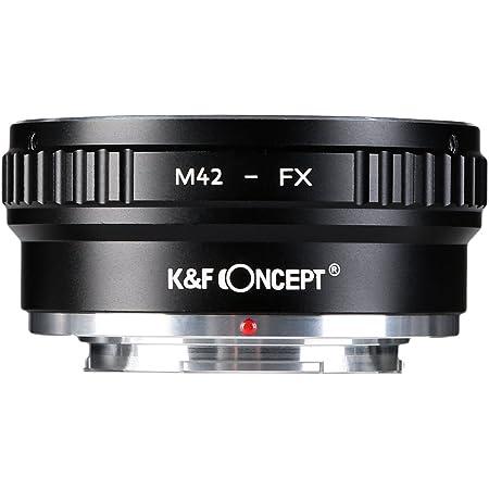 Adaptateur pour M42/42/mm dobjectif pour Fujifilm X Mount FX X-h1/X-e3/X-T10/X-T1/X-t2/X-t20/X-Pro1/X-pro2/X-M1/X-A1/X-A2/X-a3/X-a5/X-a10/X-a20/X-E1/X-E2/X-E2s