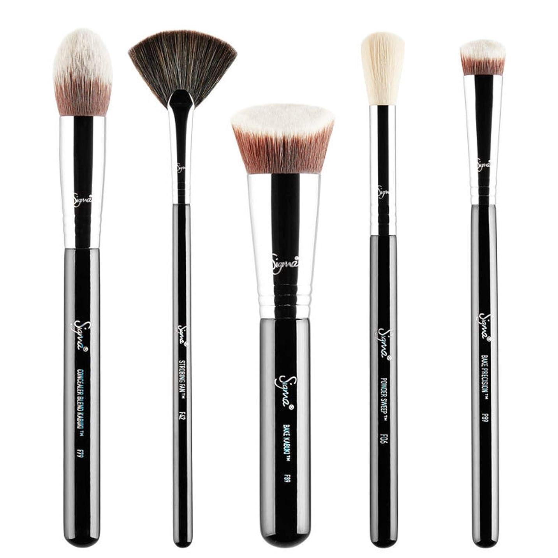 成分リーズSigma Beauty Baking & Strobing Brush Set 5pcs並行輸入品