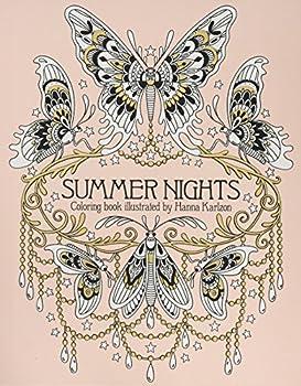 Summer Nights Coloring Book  Originally Published in Sweden as  Sommarnatt