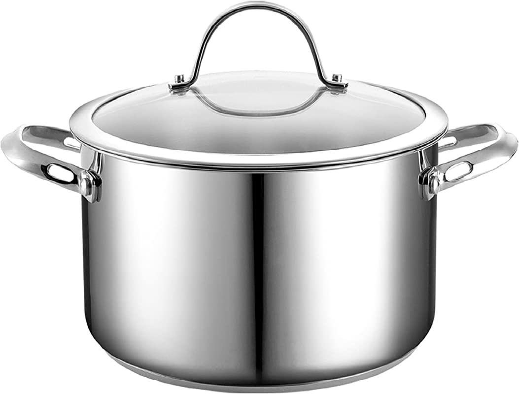 Cooks Standard 6 Quart Stainless Steel Stockpot With Lid
