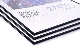 27x40 Movie Poster Frames Value Pack Deal (3 Frames) Basic Economy Frames