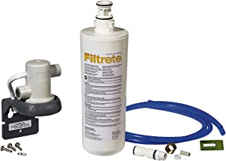 Filtrete Standard Under Sink Quick Change Water Filtration System, Easy to Install, Reduces 5 Microns Sediment and Chlorine Taste & Odor, Includes 6 Month Filter (3US-AS01)