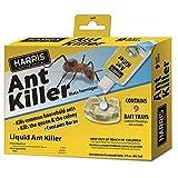 HARRIS Borax Liquid Ant Killer, 3oz - Includes 9 Bait Trays