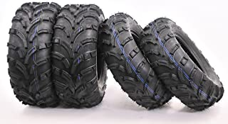 Full set WANDA ATV/UTV Tires 25×8-12 Front & 25×10-12 Rear /6PR