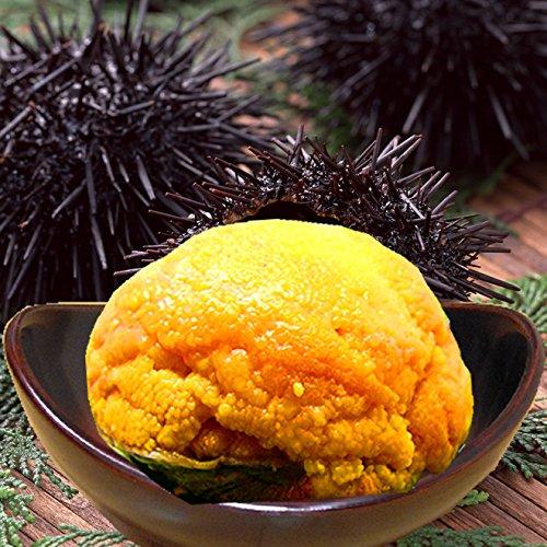 天然 ウニ の 貝焼き (本ウニの蒸し焼き はまぐり貝盛り) 60g×2ヶ