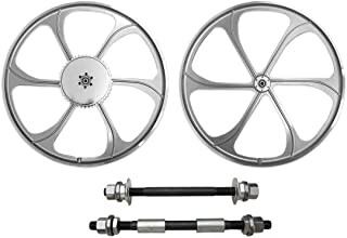 BBR Tuning 26 Inch Heavy Duty Front Mag Wheel for Mountain Bikes, Beach Cruisers, Hybrid Bikes and Motorized Bicycles