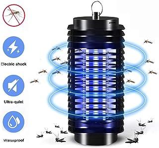 BBTWO Lámpara Antimosquitos, Lámpara Mosquito Electrico UV Luz Lampara LED Insectos Trampa, Lampara Antimosquitos Electrico para la Cocina la Sala de Estar el Cuarto de los Niños, Negro