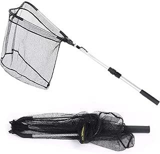 Steinppo Folding Fishing Landing Net with Telescoping...