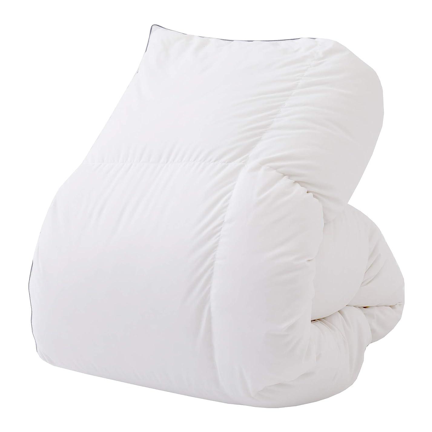 サイクロプス昇進迷信西川(Nishikawa) 羽毛布団 ホワイト シングル 厳しい西川基準をクリア 西川品質 ダウン85% 日本製 KA09002504W