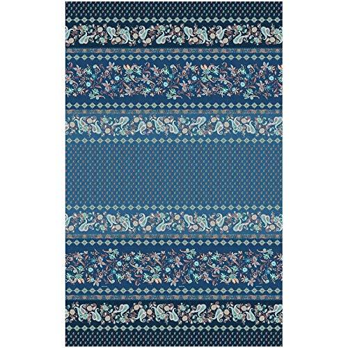 Bassetti FABRIANO Foulard, algodón, Azul, 270X270