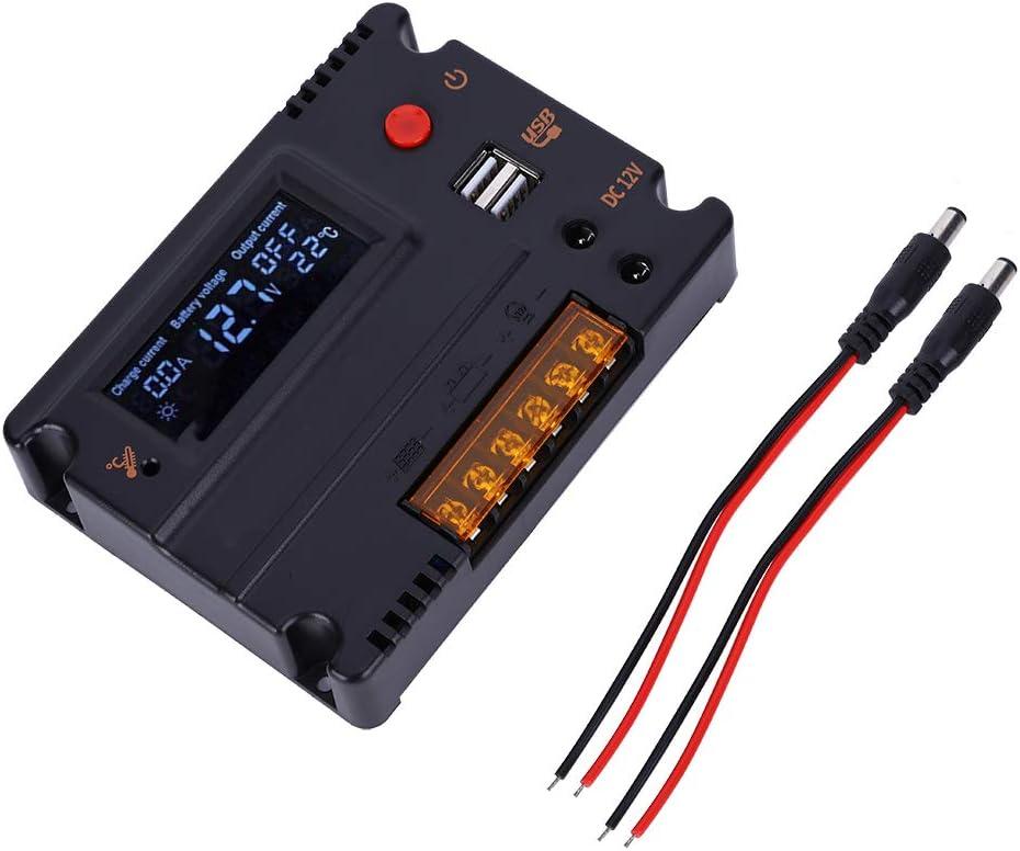 Solar Controller Charge 2021 model 12V X 10.5V; Super-cheap ABS