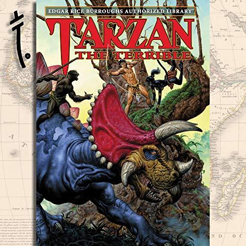 Tarzan the Terrible Audiobook By Edgar Rice Burroughs cover art