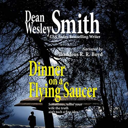Dinner on a Flying Saucer  By  cover art