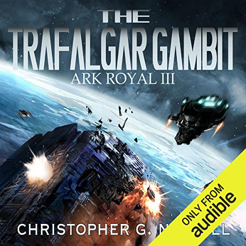 The Trafalgar Gambit audiobook cover art