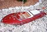 BUSDUGA RC Venezia ferngesteuert Schiff Boot Yacht Riva Optik RENNBOT Ready-to-Run