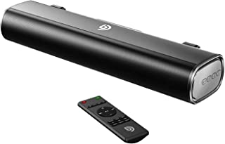 Bomaker 50W Sound Bar, 16-Inch Portable Outdoor 2.0 Soundbar, 105dB, 3D Surround Sound, 3 Equalizer Modes,Wired & Wireless...