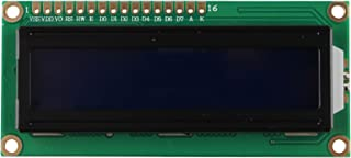 HALJIA 5V 1602 16x2 Character LCD Display Module Blue Blacklight for Arduino UNO Mega R3