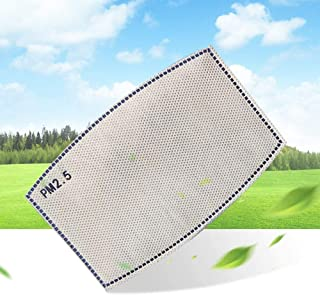iQuark 100Pack PM 2.5 Activated Carbon Filter Insert 5 Layers, PM2.5 Protective Filter, Effective Non-Woven Fabrics Cotton Filter (Adult Size)