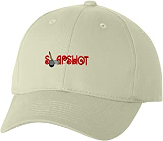 Slapshot Custom Personalized Embroidery Embroidered Hat Cap