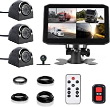 $219 » VSYSTO 4CH Dash Cam Recording Camera Recorder DVR Front Sides & Rear VGA for Semi Trailer Truck Van Tractor with Infrared ...