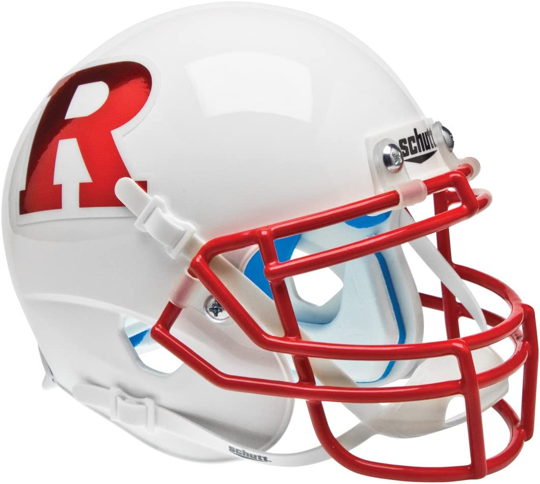Schutt Special price NCAA Rutgers Popular product Scarlet Knights H Mini Authentic XP Football