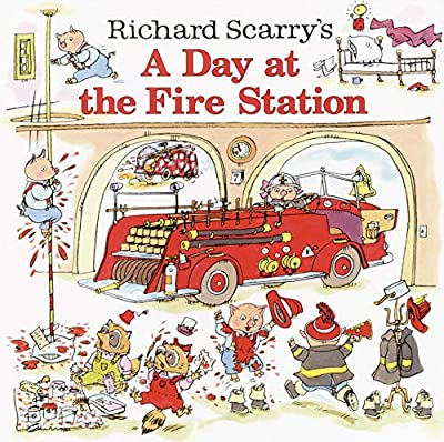 Richard Scarry is always a hit and A Day at the Fire Station is no exception.