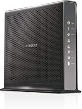 NETGEAR Nighthawk Cable Modem WiFi Router Combo with Voice C7100V - For Xfinity by Comcast Internet & Voice | Supports Cable Plans Up to 400 Mbps | 2 Phone lines | AC1900 WiFi speed | DOCSIS 3.0 (Rene