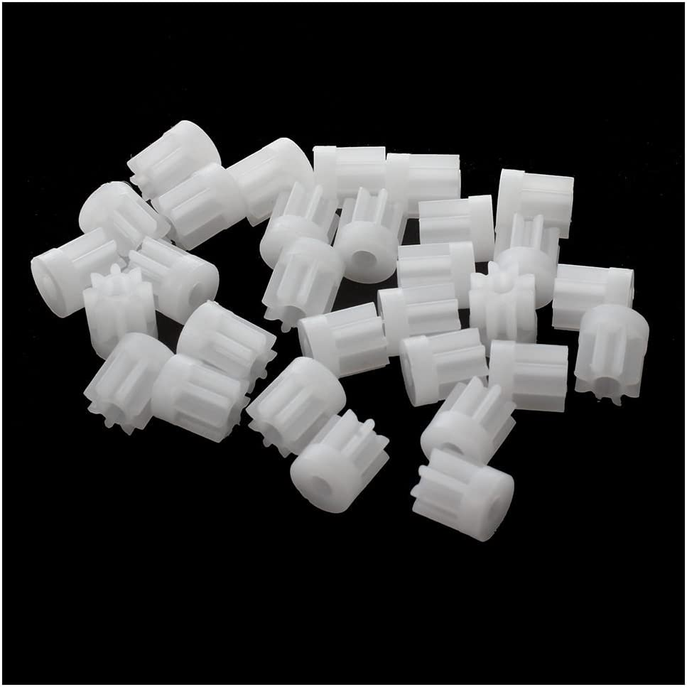 Andifany 30Pcs 0.5 Modulus 8 Teeth for Latest item Toy Gear Plastic Cog Brand Cheap Sale Venue 2mm