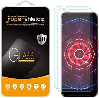 (2 Pack) Supershieldz For ZTE Nubia Red Magic 3 and 3S Tempered Glass Screen Protector, Anti Scratch, Bubble Free