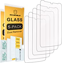 [5-Pack]- Mr.Shield for Motorola Moto Droid Turbo [Tempered Glass] Screen Protector [0.3mm Ultra Thin 9H Hardness 2.5D Round Edge] with Lifetime Replacement