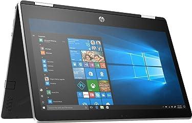 "HP Pavilion X360 2-IN-1 11.6"" HD Touch-Screen WLED-backlit Laptop, Intel Pentium N5000 up to 2.7GHz, 4GB DDR4, 128GB SSD, Bluetooth, Wireless-AC, HDMI, Webcam, USB 3.1-C, Media Card Reader, Windows 10"
