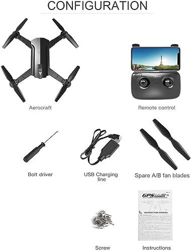 Fantasyworld S8 720P   1080P WiFi Quadcopte Avion Blanc Mode Avion Headless Contrôle à Distance d'hélicoptère Mini Drone Quadcopter