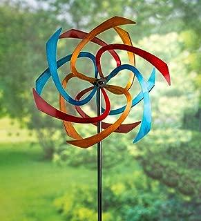 Plow & Hearth 55058 Ribbon Wind Sculpture, Multicolor