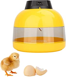 ZCXBHD Mini Digital Incubators Temperature Control With Egg Tray For Chicken Goose Duck Poultry Hatcher (10 Eggs)