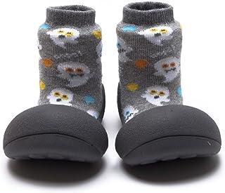Attipas Zapatos Primeros Pasos- Modelo Halloween- (20, Gris)