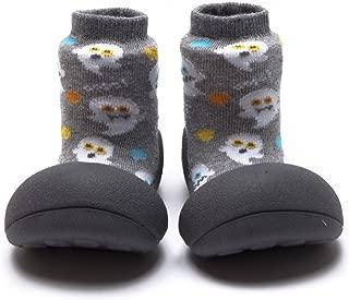 Attipas Halloween Baby Walker Shoes, Grey, Medium
