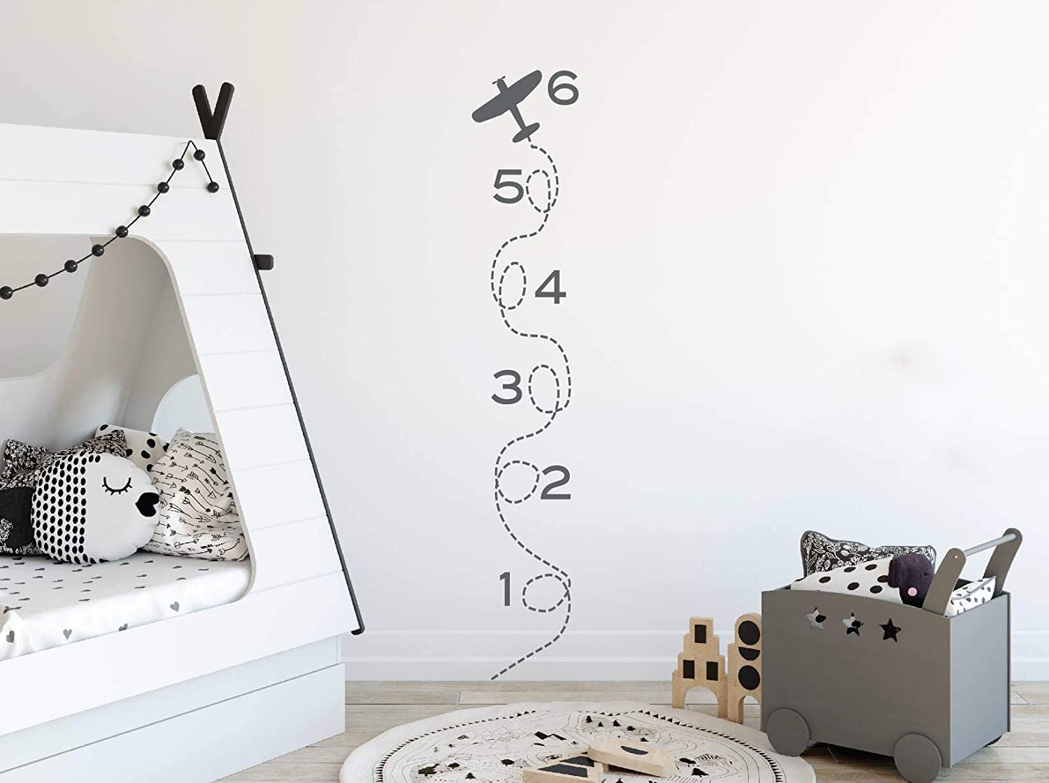 Diuangfoong Growth Ranking online shop TOP16 Chart Ruler Wall Stickers Decors Art for
