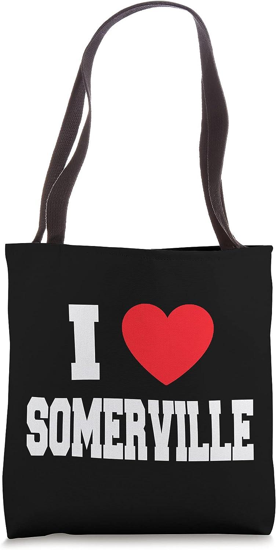 I Love Somerville Tote Bag