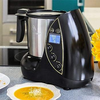 Cecomix Robot Compact Que Cocina y tritura, 1100 W, 2.8 litros, Acero Inoxidable|PU, Plata: Amazon.es: Hogar