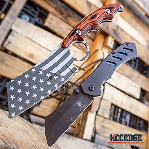 BUCKSHOT KNIVES Little Cleaver 2PC Combo...