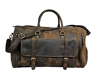 leather travel bag vintage