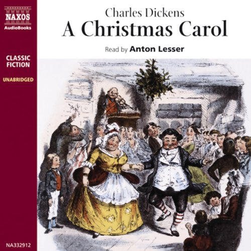 A Christmas Carol [Naxos AudioBooks Edition] audiobook cover art