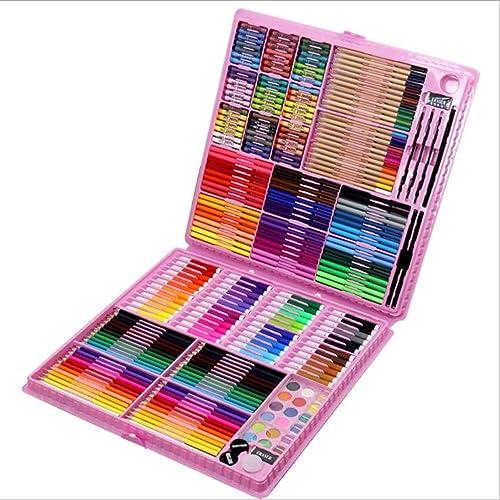 DLDL Art Set Kinder Malerei Pen Set 288 Stück Briefpapier Geschenkbox