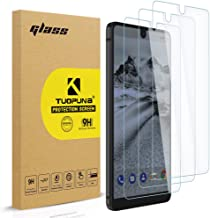Tuopuna [3 Pack] for Essential Phone PH-1/Essential Phone Tempered Glass Screen Protector (Upgraded with Right Angle), 2.5D Arc Edges 9 Hardness HD Full Coverage - Clear